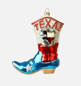 Texas Boot Ornament