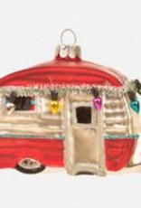 Happy Camper Ornament - Red