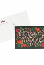 Be Merry & Bright Postcards - Pack of 10