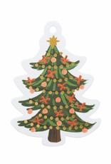 Christmas Tree Die-Cut Gift Tags - Pack of 8
