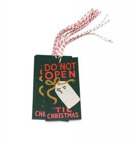Do Not Open 'Til Christmas Gift Tags - Pack of 10