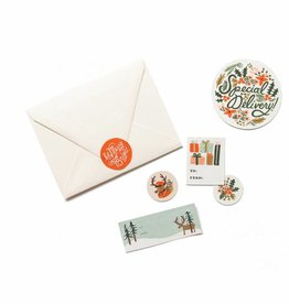Holiday Stickers & Labels - Pack of 3