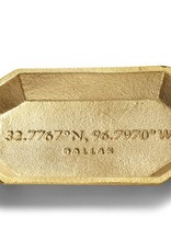 Dallas Coordinates Trinket Tray