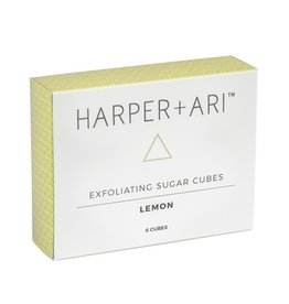 Harper + Ari Exfoliating Sugar Cubes Gift Box - Lemon