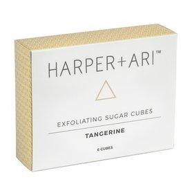 Harper + Ari Exfoliating Sugar Cubes Gift Box - Tangerine