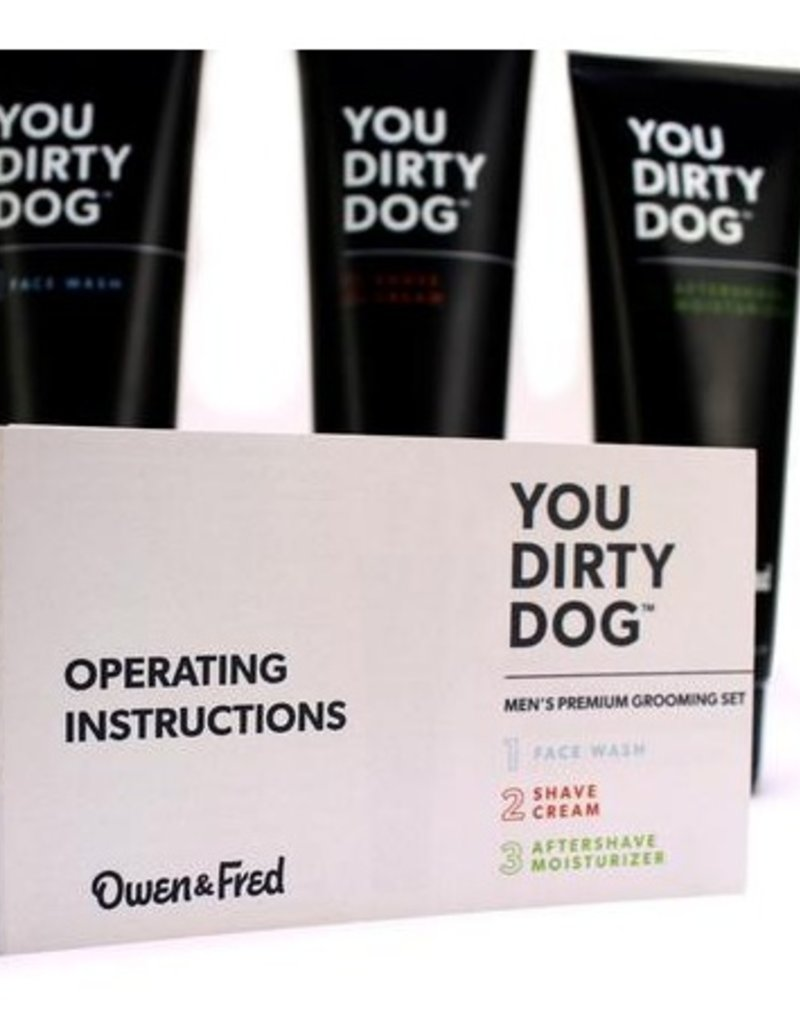 You Dirty Dog Men's Premium Grooming Set