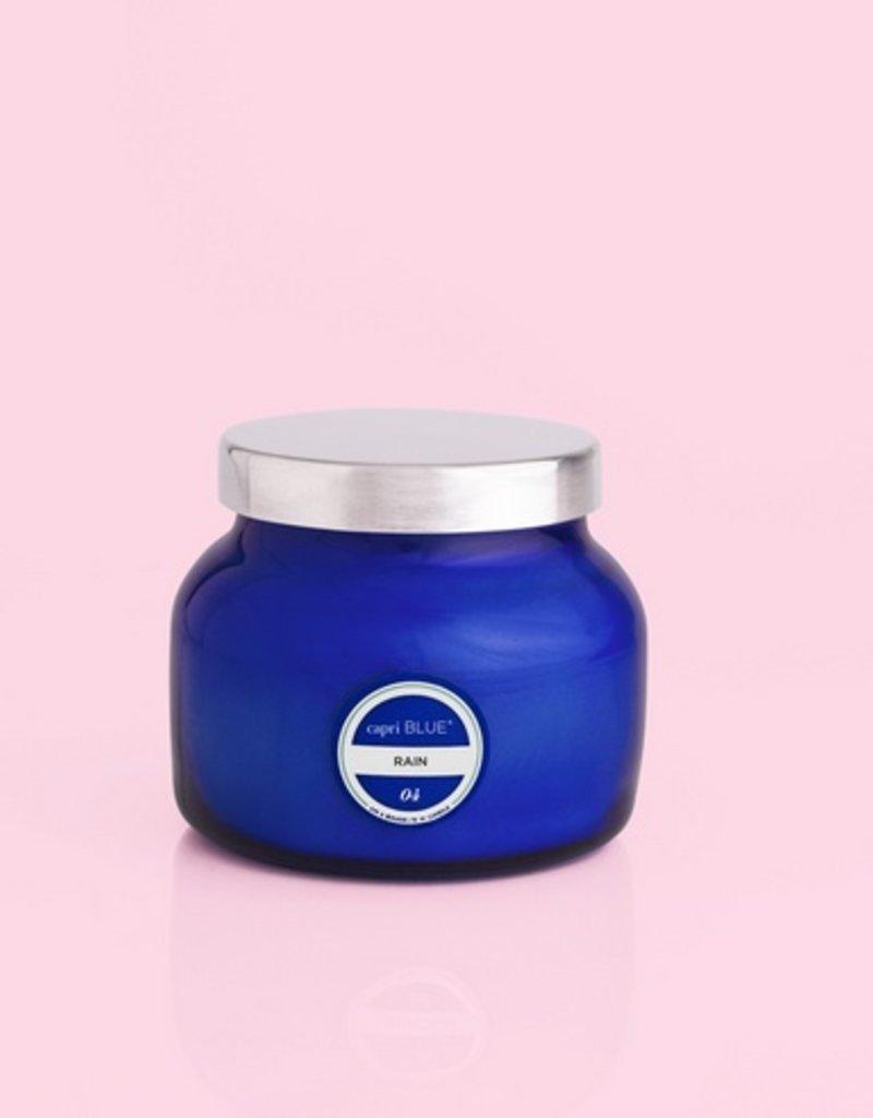 Rain Candle - Petite Blue Jar