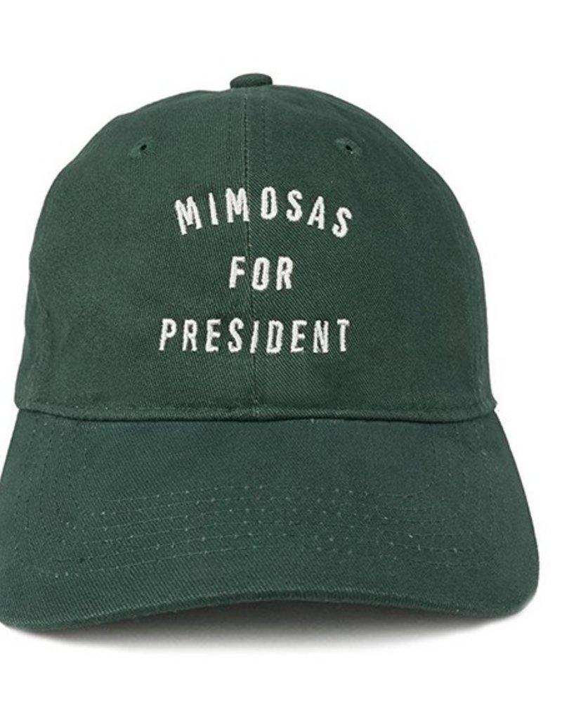 Mimosas for President Hat - Hunter