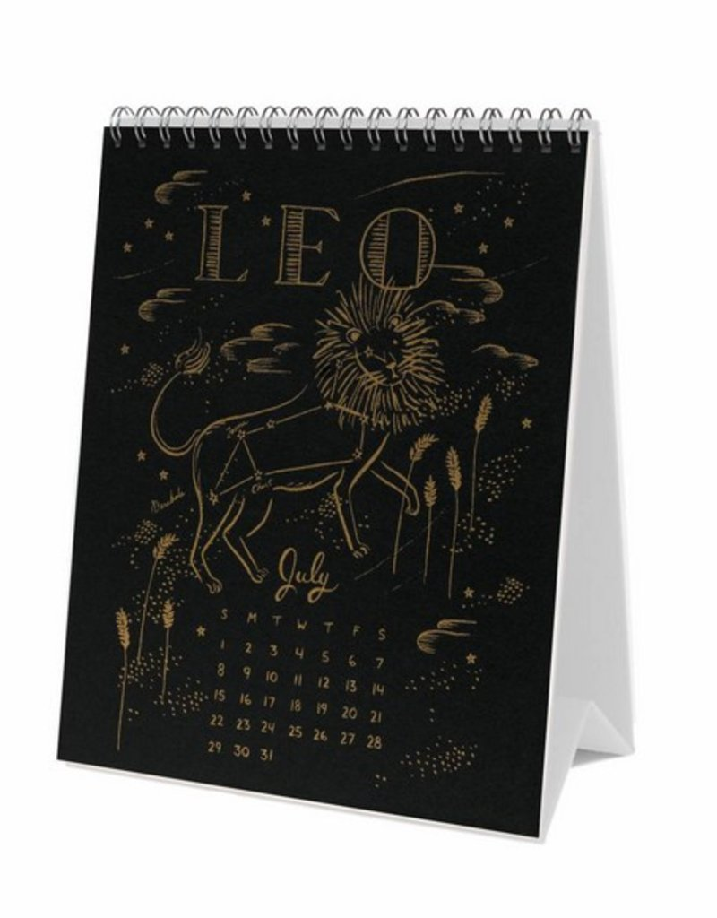 2018 Constellations Desk Calendar