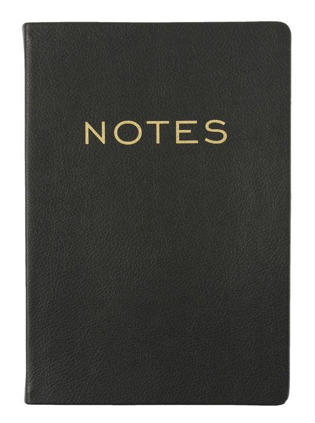 Black + Gold Journal - Notes