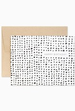 Evermore Paper Co. Minimalist Dots Birthday Card