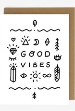 Worthwhile Paper Good Vibes Card