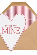 Be Mine Heart Card