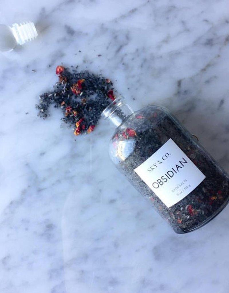 Obsidian Bath Salts - 18 oz.