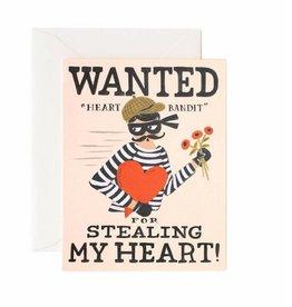 Heart Bandit Card