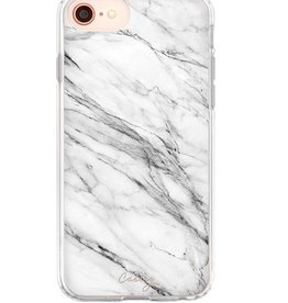 The Casery White Marble Phone Case - iPhone 6/7 Plus