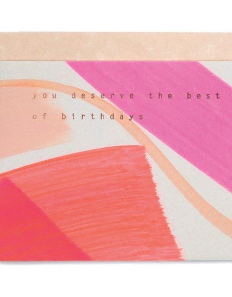 Best of Birthdays Card