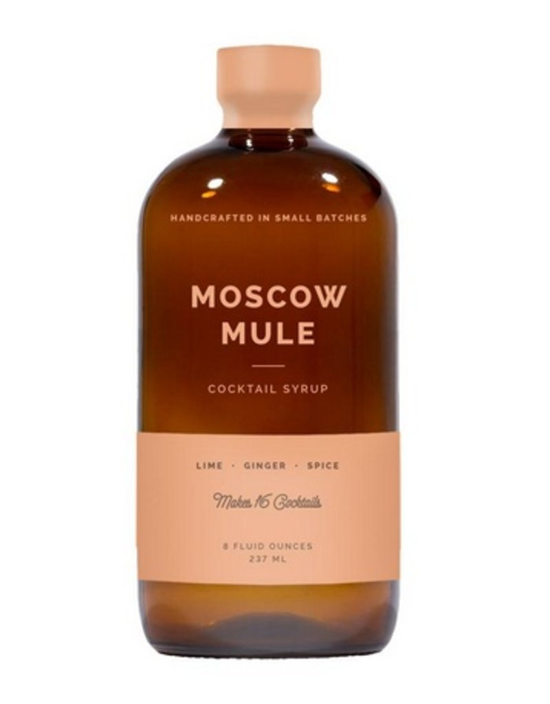 W&P Moscow Mule Cocktail Syrup - 8 oz.