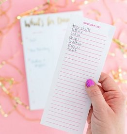 What's For Dinner? Meal Planning Notepad