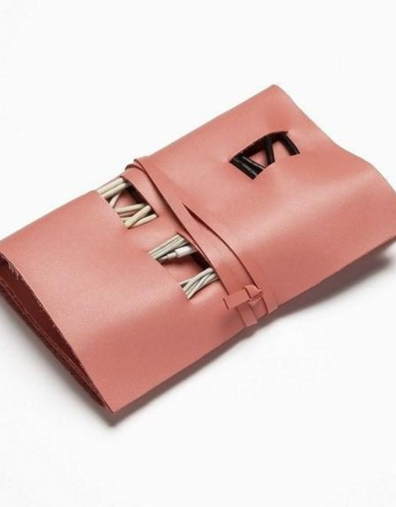 Travel Cord Roll - Pink