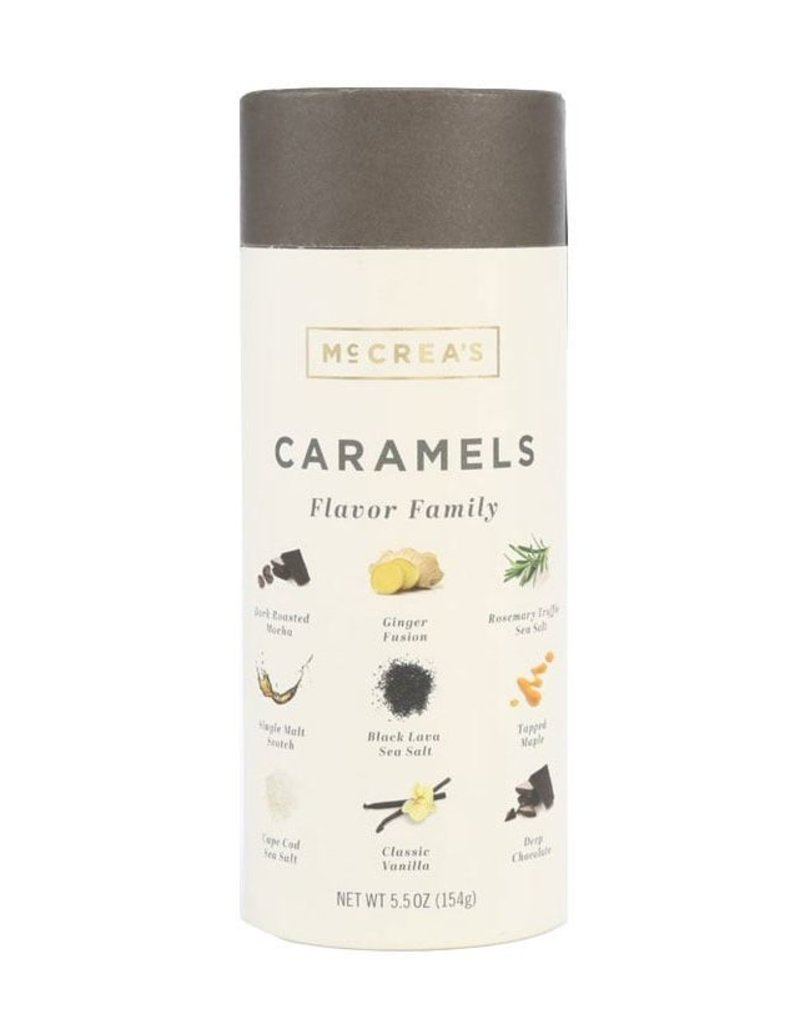 McCrea's Candies Flavor Family Caramels - 5.5 oz.