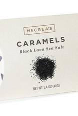 McCrea's Candies Black Lava Sea Salt Caramels - Pillow Pack
