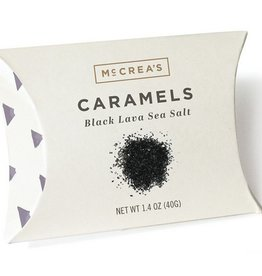 McCrea's Candies Black Lava Sea Salt Caramels - Pillow Pack