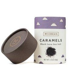McCrea's Candies Black Lava Sea Salt Caramels - 2.4 oz