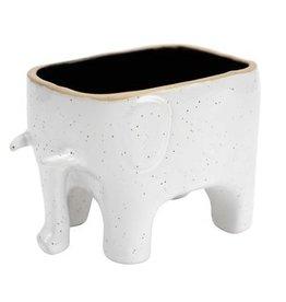 Elephant Planter - Speckled