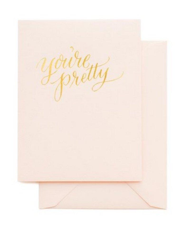You're Pretty Card