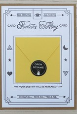 Fortune Telling Letterpress Card: Always Right