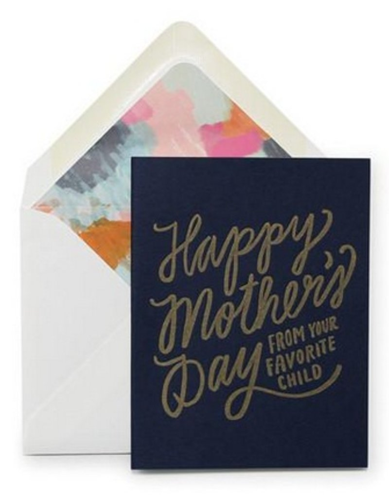 Mother's Favorite Card