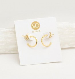Gorjana Taner Mini Hoops - Gold