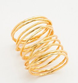 Gorjana Lola Ring - Gold - Size 7