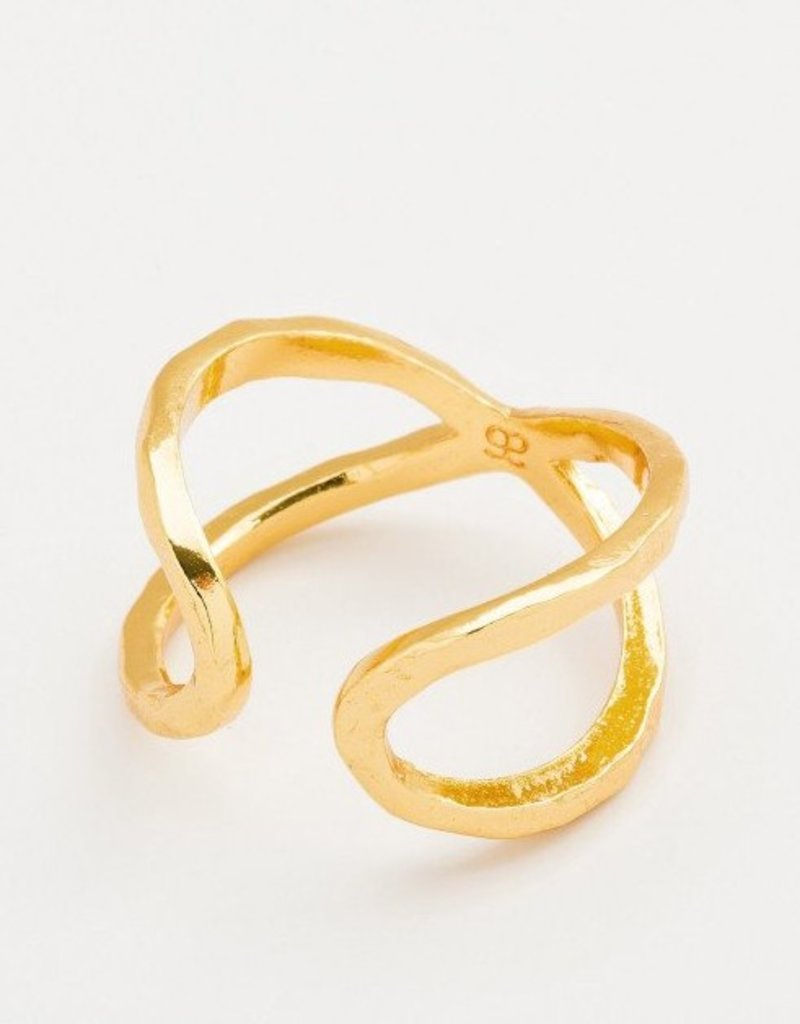 Gorjana Elea Ring - Gold - Size 7