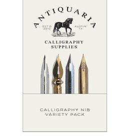 Antiquaria Calligraphy Nib Sample Kit