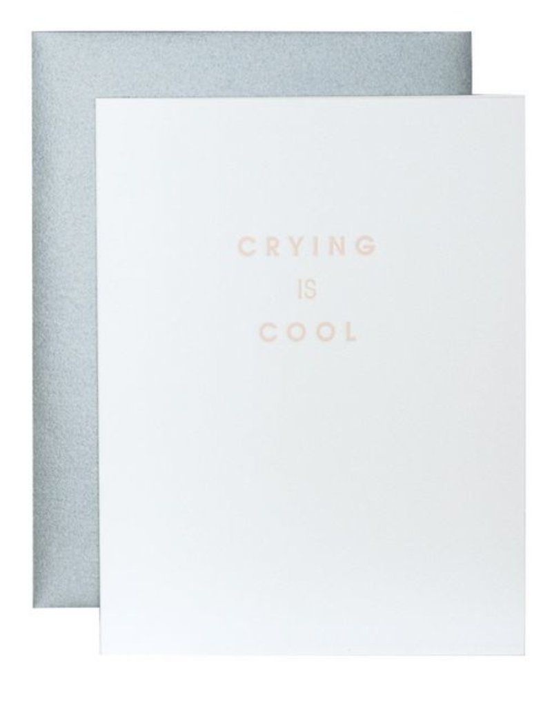Crying is Cool Card