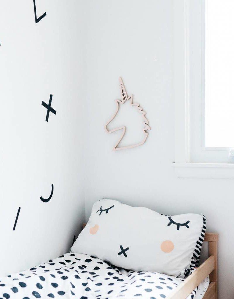 Unicorn Die Cut - Blush