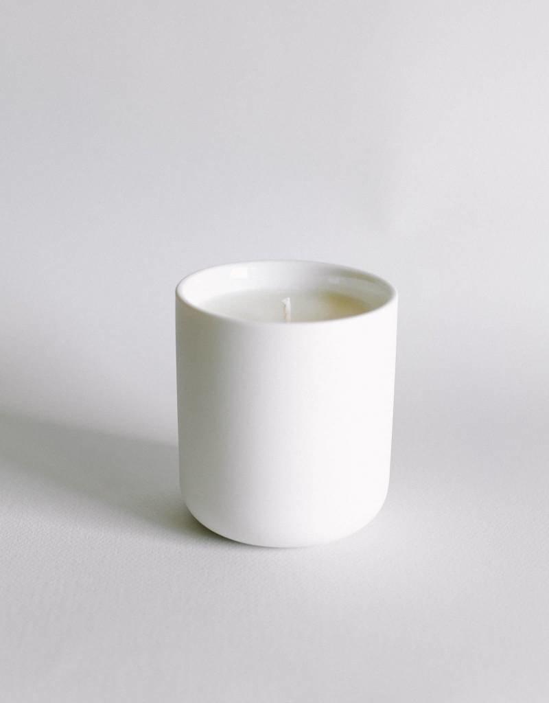 Lightwell Co. Teakwood Ceramic Candle