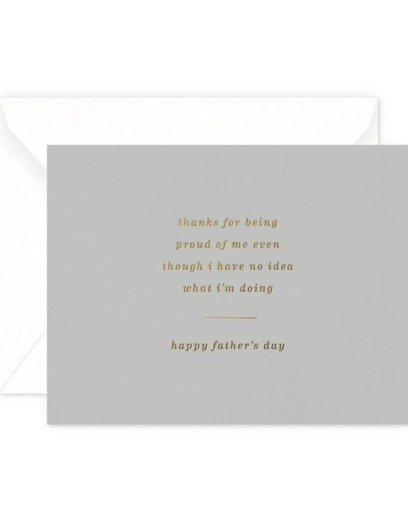 No Idea What I'm Doing Father's Day Card