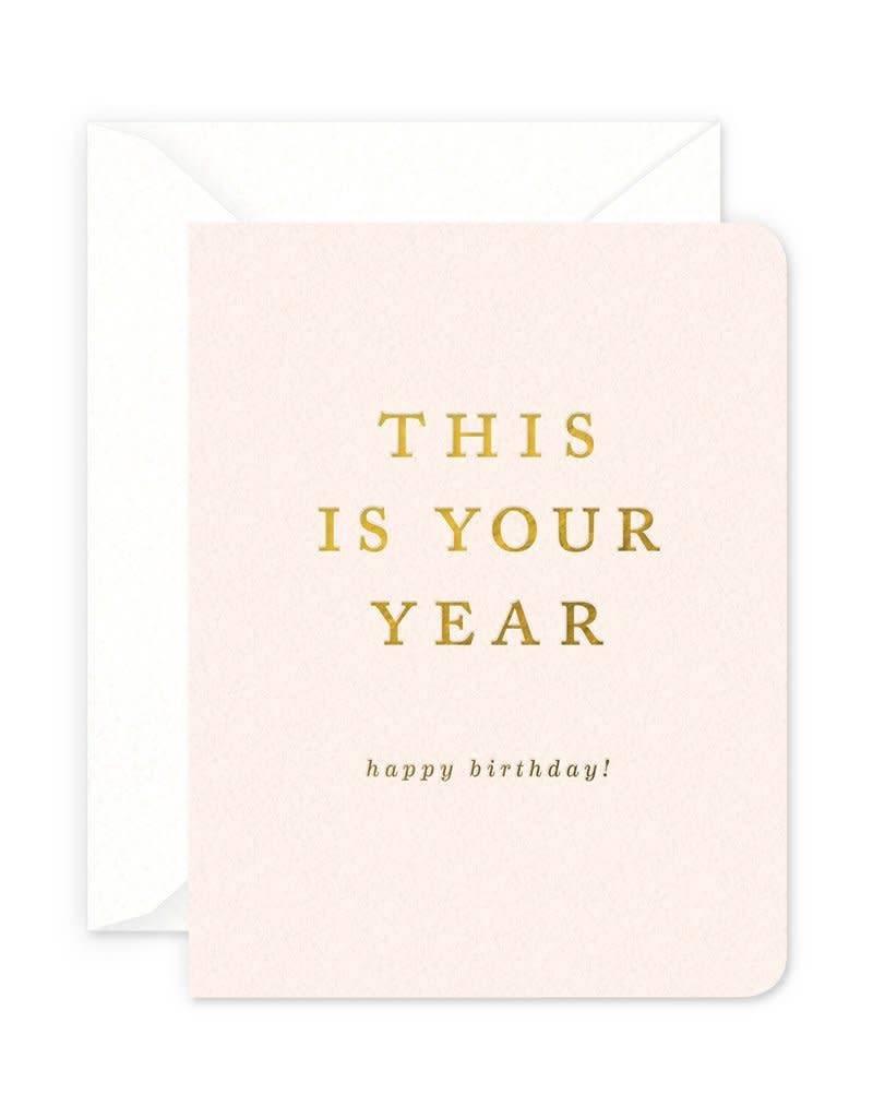 Your Year Birthday Card