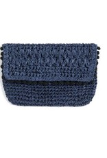 Linda Clutch - Navy