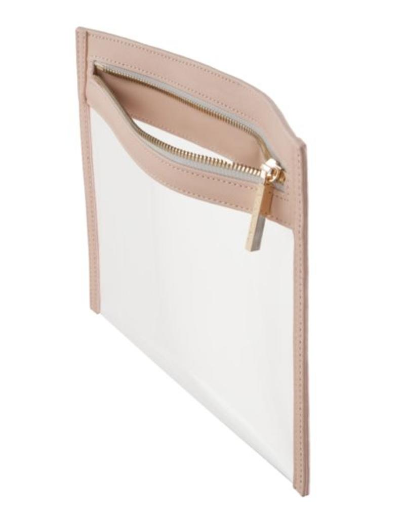 Clarity Clutch Small - Dusty Blush