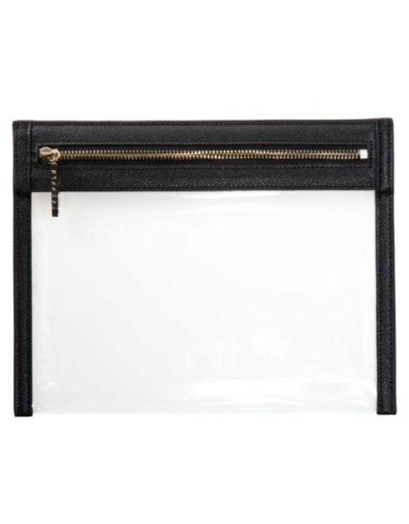 Clarity Clutch Small - Black