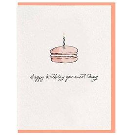 Happy Birthday Sweet Thing Card
