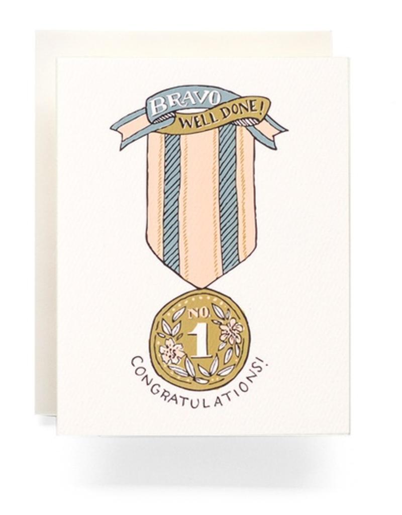 Bravo No. 1 Ribbon Card