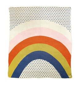 Rainbow + Raindrops Blanket