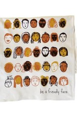 Be a Friendly Face Dish Towel
