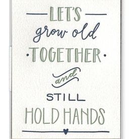 Still Hold Hands Card