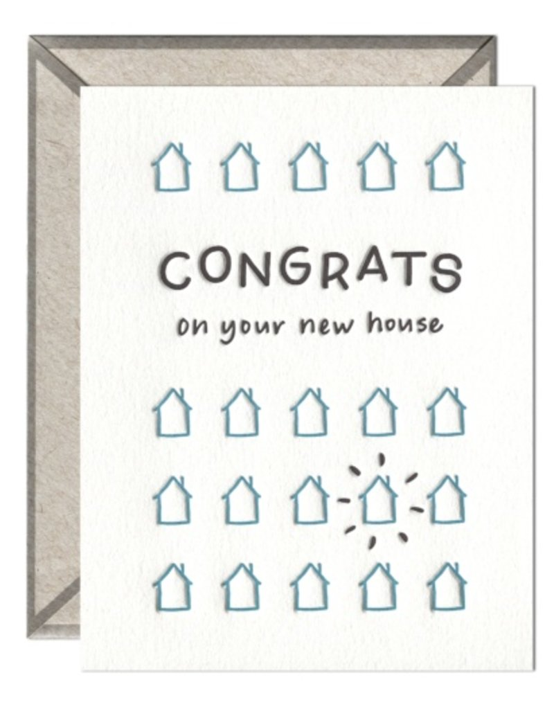 New House Congrats Card